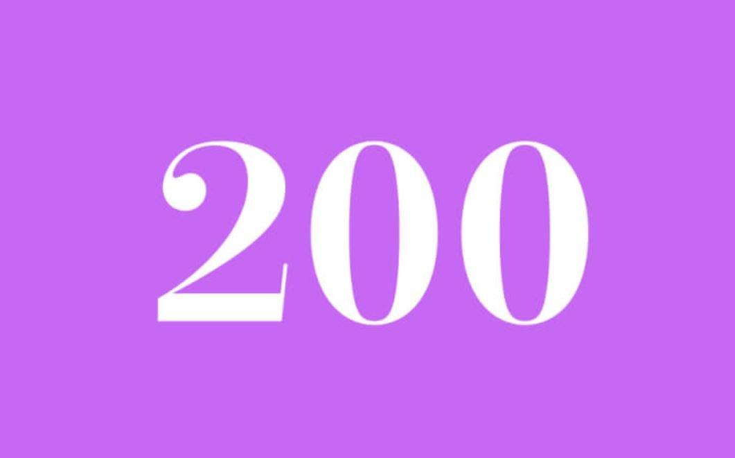 Significato del Numero Angelico 200