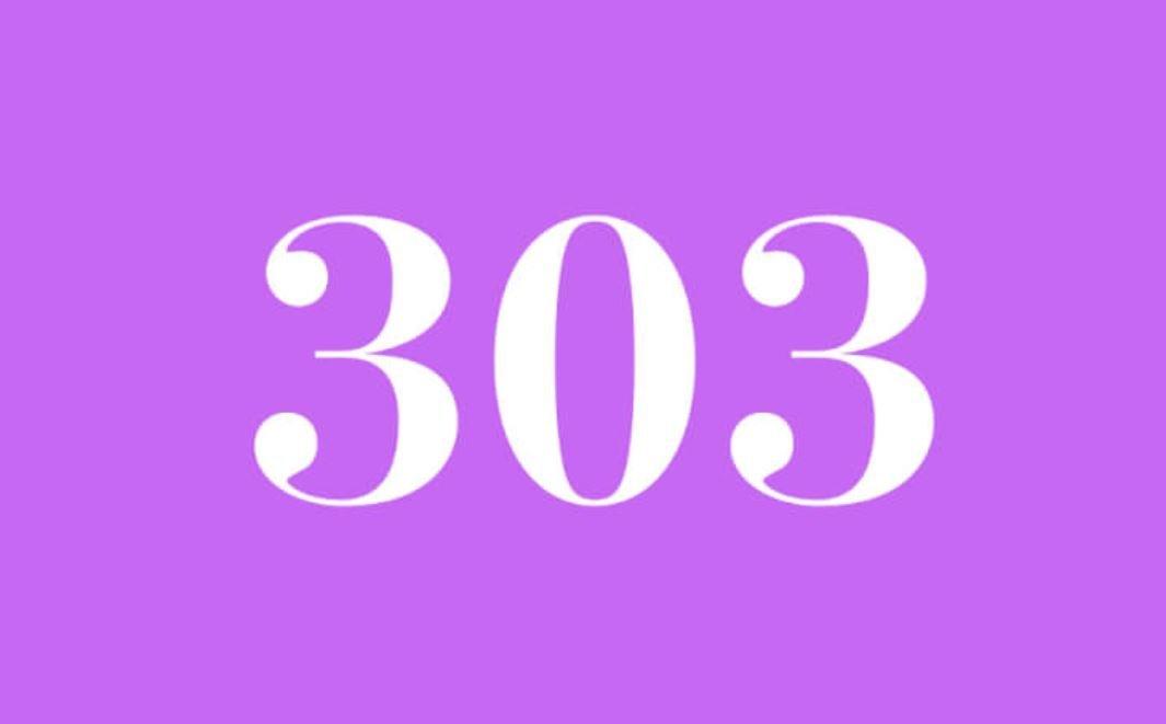 Significato del Numero Angelico 303