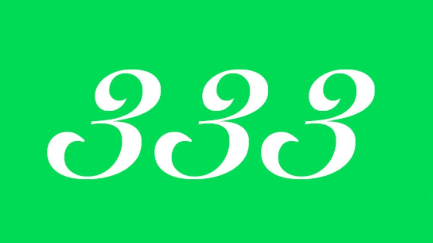Significato del Numero Angelico 333