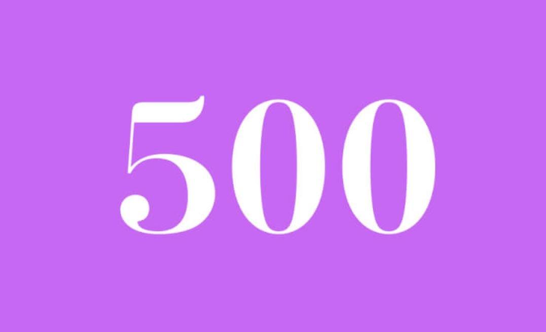 Significato del Numero Angelico 500