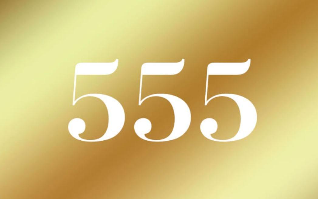 Significato del Numero Angelico 555