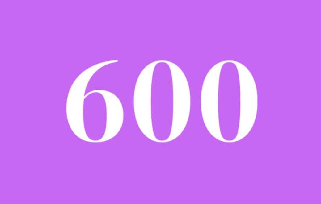 Significato del Numero Angelico 600