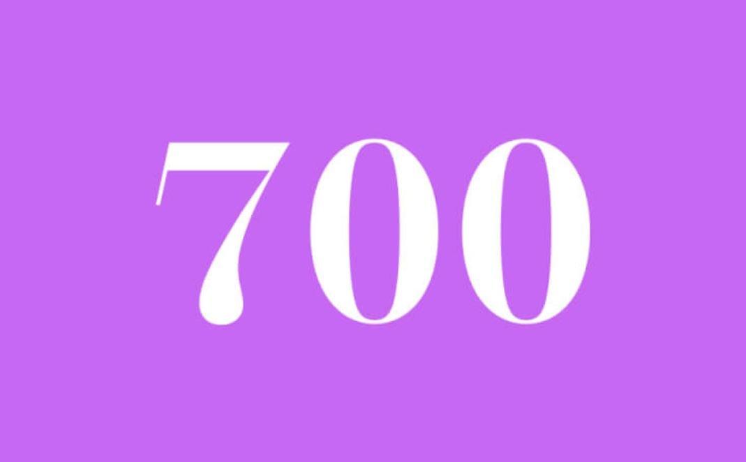 Significato del Numero Angelico 700