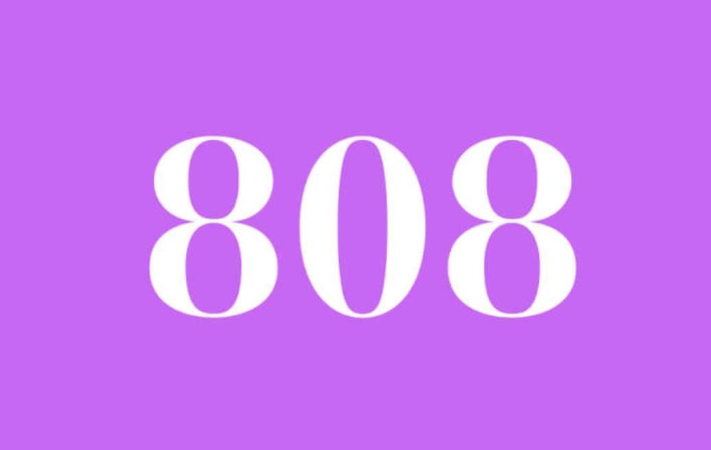 Significato del Numero Angelico 808