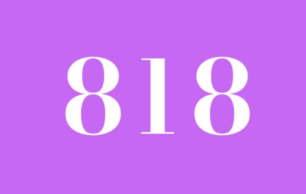 Significato del Numero Angelico 818