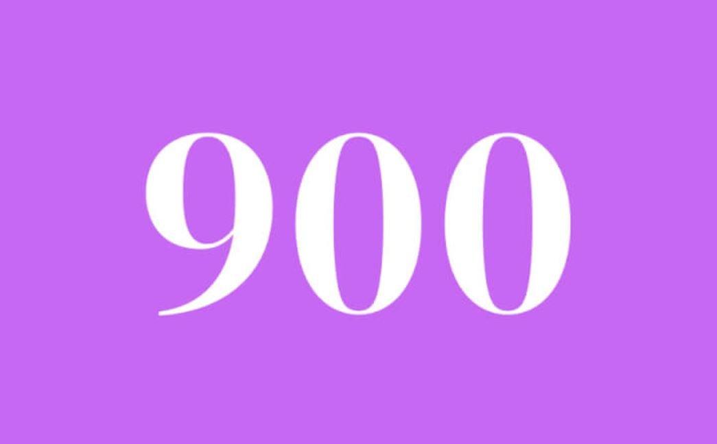 Significato del Numero Angelico 900