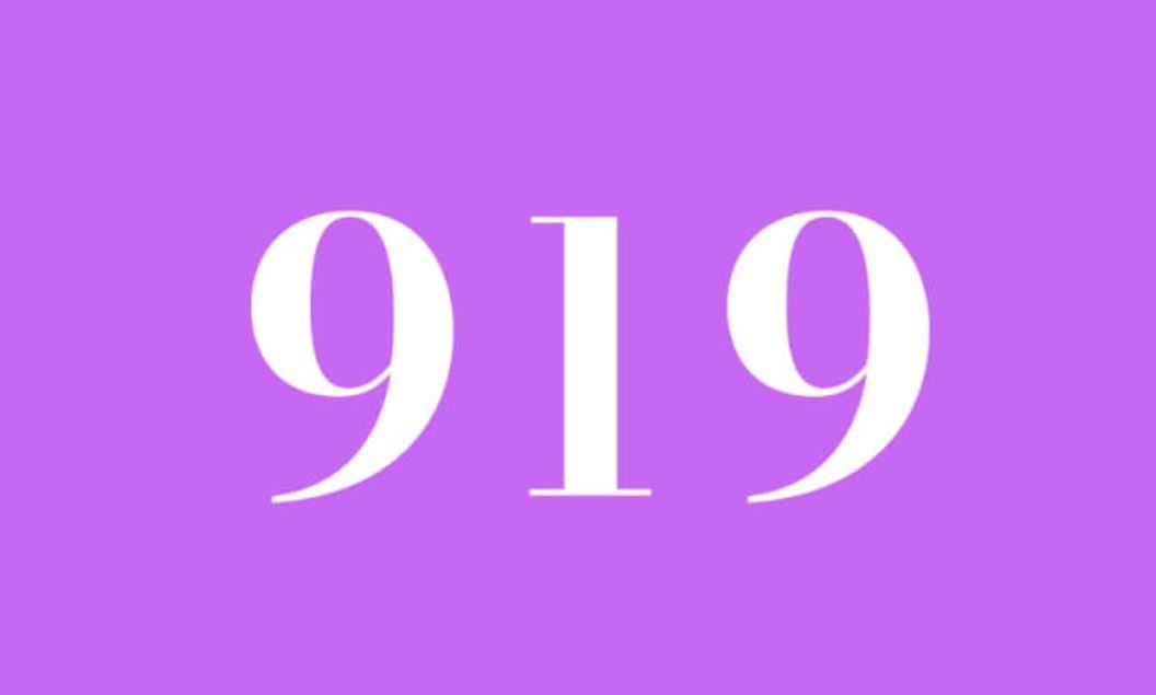 Significato del Numero Angelico 919
