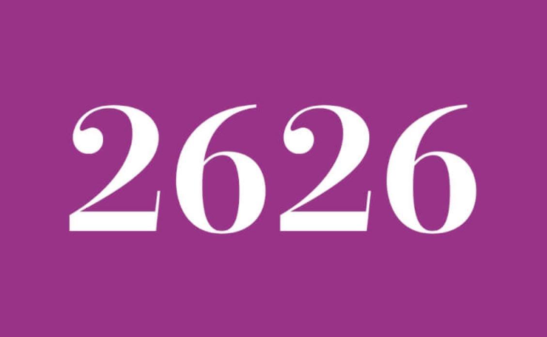 Significato del Numero Angelico 26:26