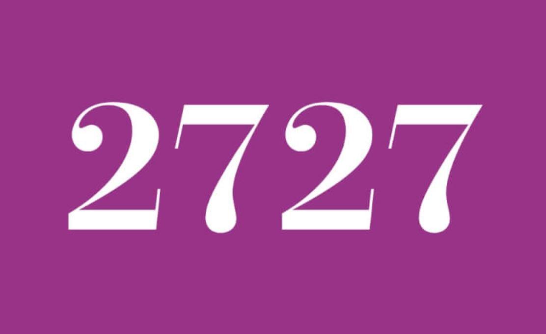 Significato del Numero Angelico 2727