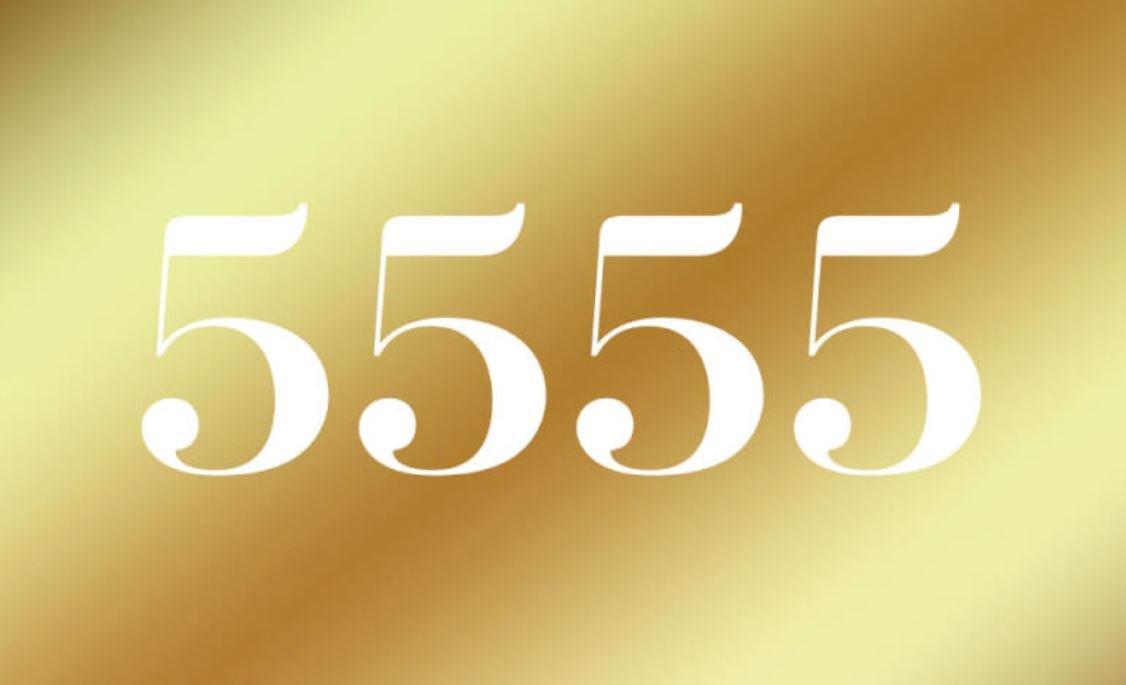 Significato del Numero Angelico 5555