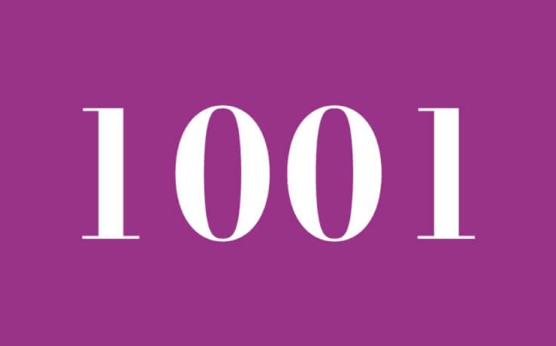 Significato del Numero Angelico 1001