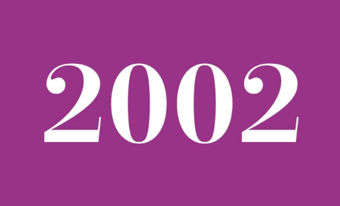 Significato del Numero Angelico 2002