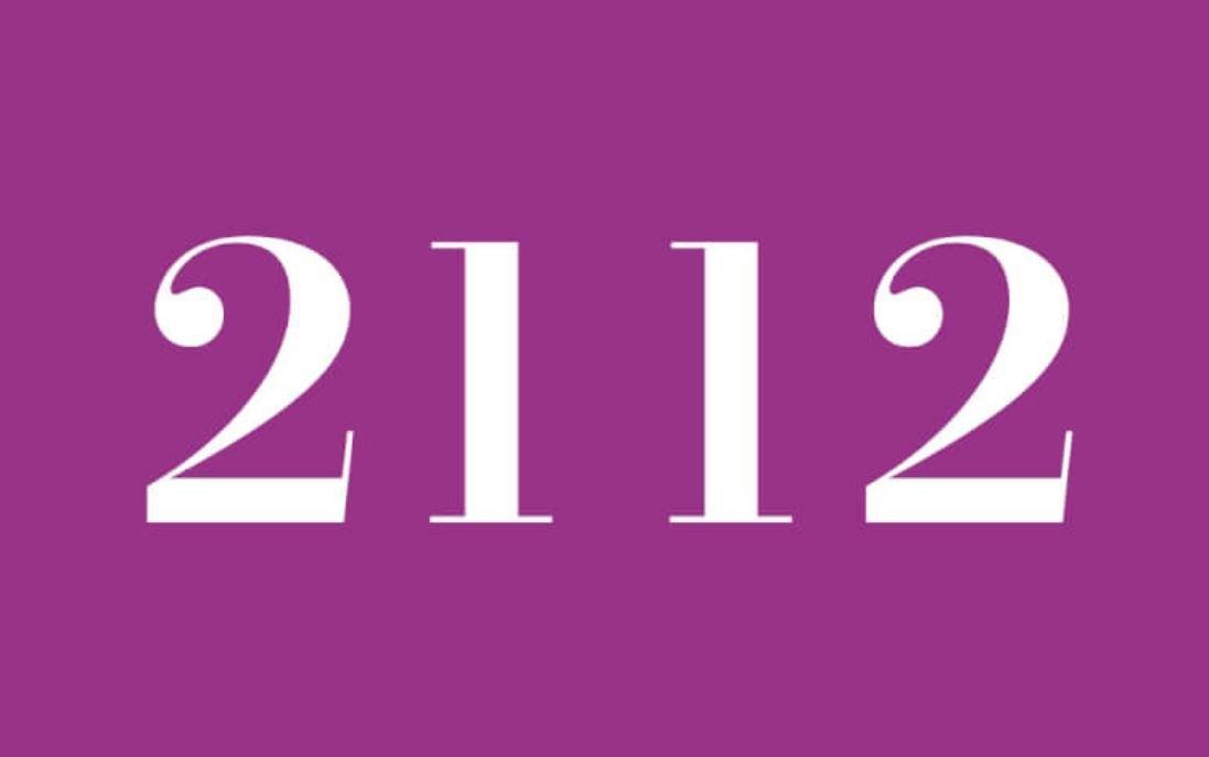 Significato del Numero Angelico 2112