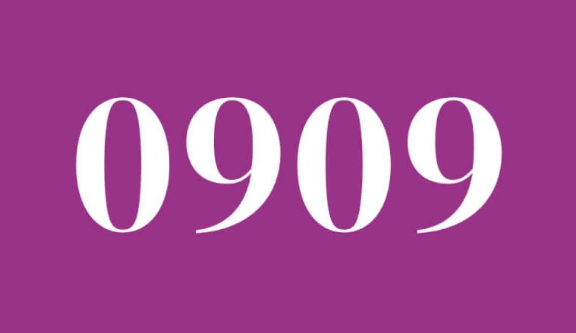 Il significato del numero 0909