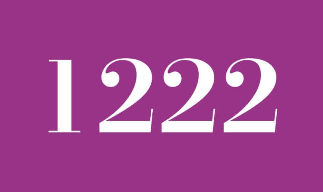 Il significato del numero 1222