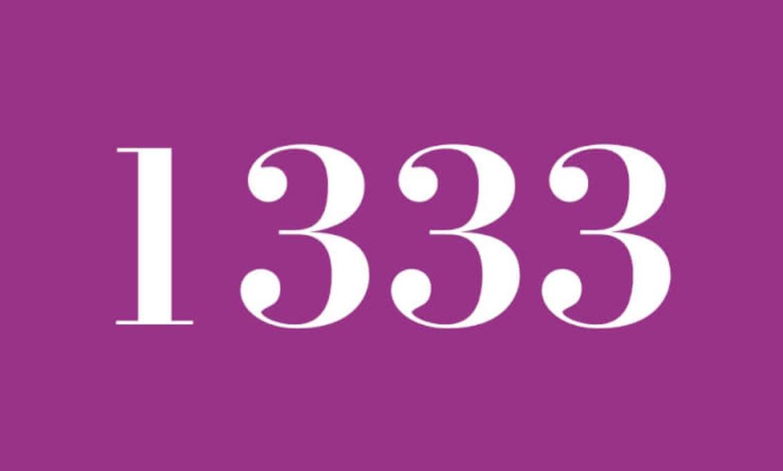 Il significato del numero 1333