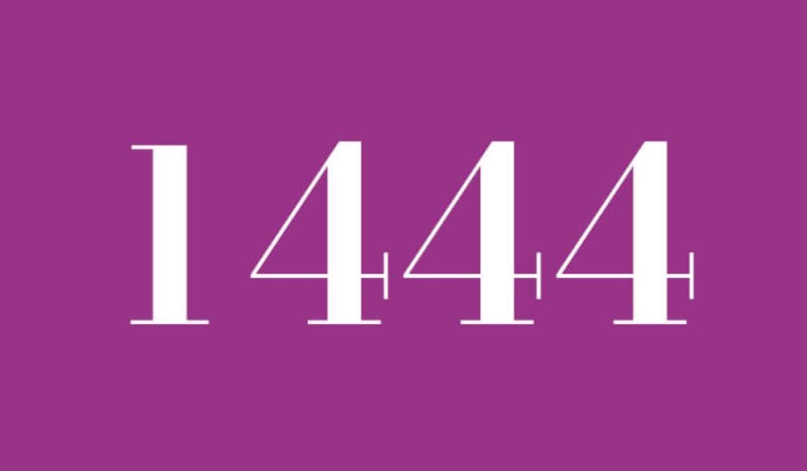 Il significato del numero 1444