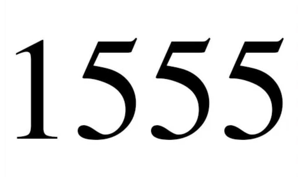 Significato del Numero Angelico 1555