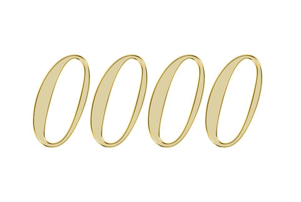 Numerologia 0000